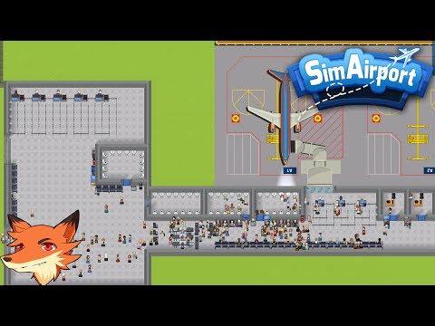 Live du 01/07- SimAirport 3 pistes d'atterrissages, 1 bar, mon aéroport est cool... mais bordélique!