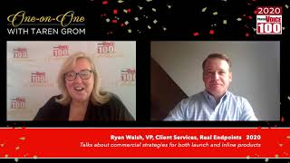 Ryan Walsh, Real Endpoints – 2020 PharmaVOICE 100 Celebration