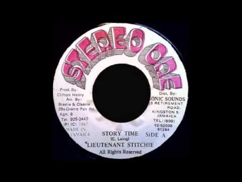 Lieutenant Stitchie - Story Time. Stereo One 1988.