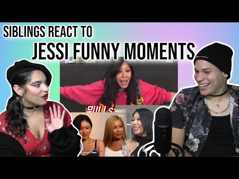 Siblings React To Jessi Funny Moments Compilation | REACTION