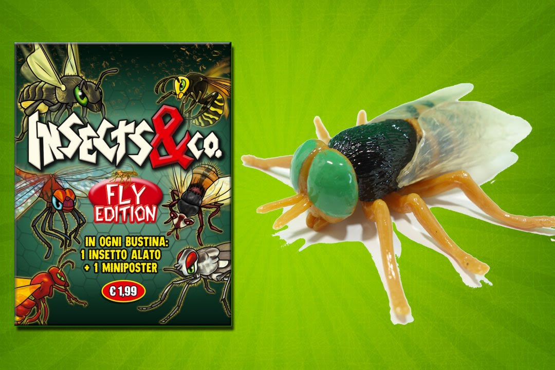 Toys And Co : Insects co de agostini fly edition sammelfiguren blind