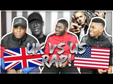 US RAP VS UK RAP!