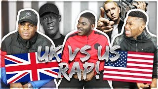 US RAP VS UK RAP!