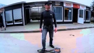 двухколесный скейт первые уроки