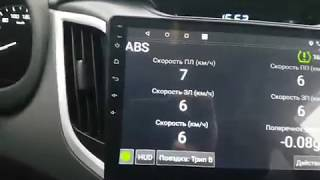 aBS и 4WD в HobDrive для Hyundai Creta
