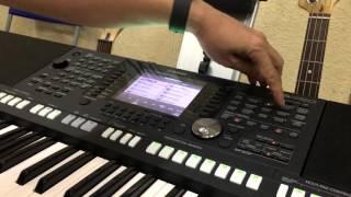 Hướng dẫn tạo bank tiếng theo Style (OST) trên YAMAHA S950, S970 MLA