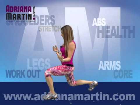 Alternating Jump Lunges - Leg Exercises
