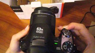фотоаппарат Sony Cyber-Shot DSC-H400 Black ( Мини обзор )