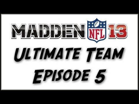"Madden 13 Ultimate Team: Episode 5 ""Giveaway, Gene Upshaw Collection, and Coin Up Week 4! """