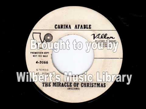 THE MIRACLE OF CHRISTMAS - Carina Afable