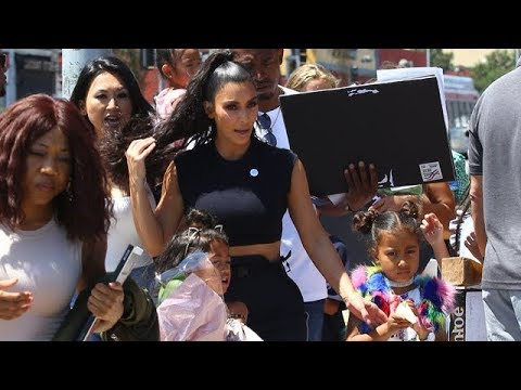 Kim Kardashian And Kanye West Give Kids' Fashion