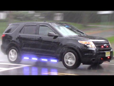 Unmarked Ford Police Interceptor Utility Responding 10-11-19
