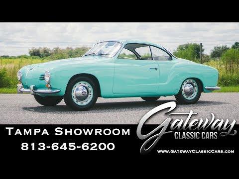 1958 Volkswagen Karmann Ghia- Gateway Classic Cars Tampa #1594