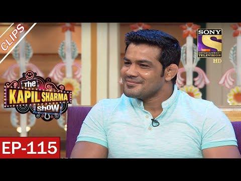 Sarla Dances With Sushil Kumar - The Kapil Sharma Show - 24th June, 2017