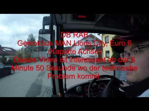 Kappute Achse: BUS - MAN Lions City Euro 6 / 18m Teil 1. von 3.