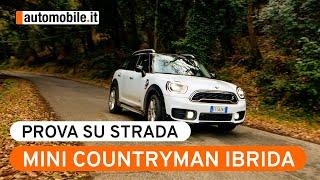 Mini Countryman Plug-In Ibrida - Prova su strada