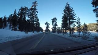 1/17/2017  Sunrise Drive to Big Bear Lake, CA from Yucca Valley. Its Gorgeous. Part 5 of 5