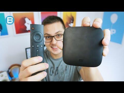 Xiaomi Mi Box - A sua TV MUITO mais PODEROSA com Android! Unboxing!
