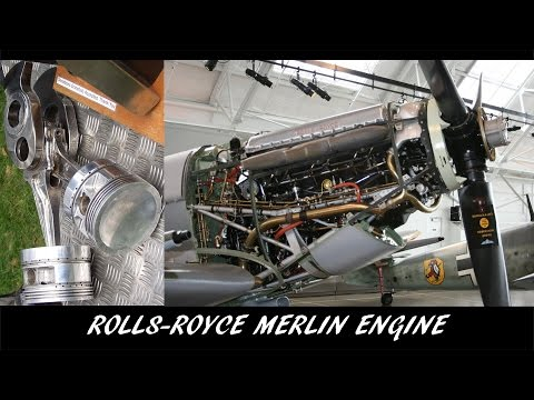 Video from the Past [24] - Rolls-Royce Merlin Engine - Contribution to Victory