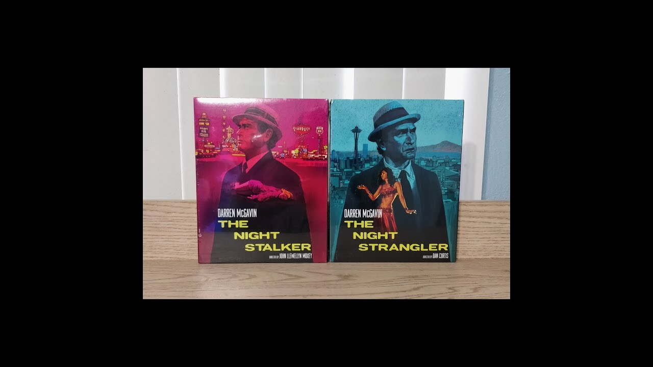 Download The Night Stalker & The Night Strangler Blu-Ray Unboxing - Kino Lorber