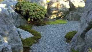 和の庭。最近、和風の庭見かけませんね。