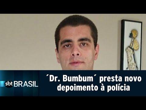 ´Dr. Bumbum´ e a mãe prestam novo depoimento à polícia   SBT Brasil (20/07/18)