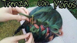 Tutorial: Trenza con Moños/Tutorial: Braid with bows!!