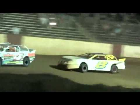 Super Stock 4 Feature 9/8/18 County Line Raceway