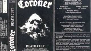 Coroner (Death cult demo) - Hate , Fire , Blood (bonus track)