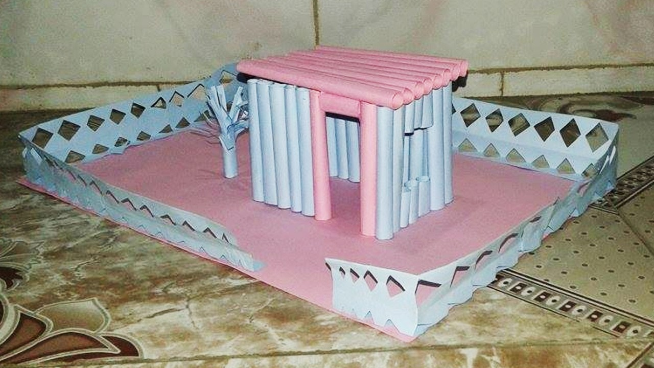 Amazing Art Design : Amazing house design easy paper crafts art