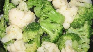 Cauliflower And Broccoli Combo - Quickrecipes - Easy Recipes - How To