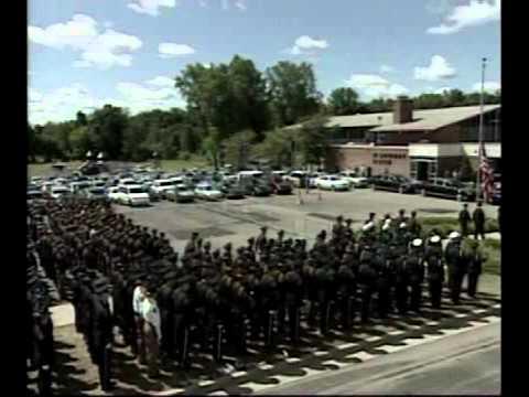 Funeral for GRPD Officer Robert Kozminski