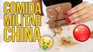 Probando comida MILITAR CHINA de SUPERVIVENCIA