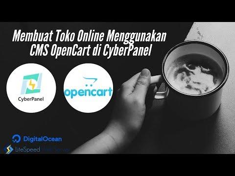 Membuat Toko Online Menggunakan CMS OpenCart di CyberPanel
