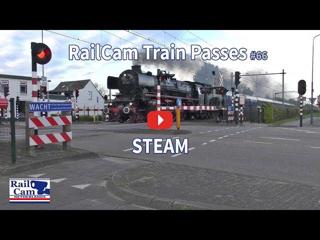 RailCam Train Passes #66 STEAM
