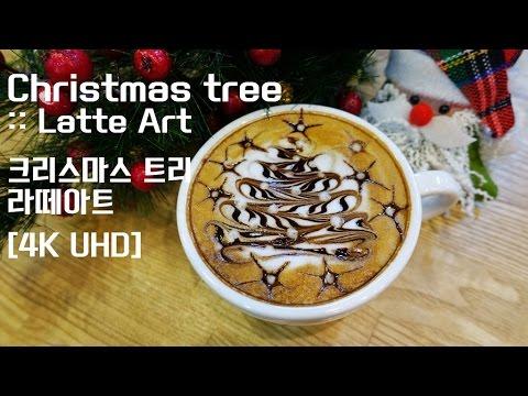 Christmas tree 1 :: Latte Art