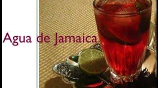Cómo Hacer Agua De Jamaica (buenísima Para Bajar De Peso) - La Receta De La Abuelita