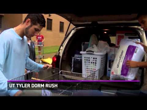 UT Tyler dorm rush
