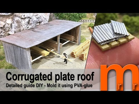 Corrugated plate roof EASY - Detailed guide DIY