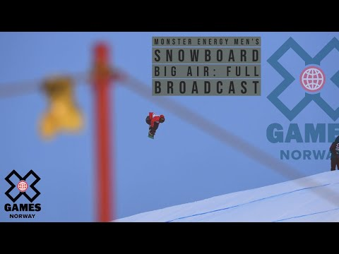 Monster Energy Men's Snowboard Big Air: FULL BROADCAST | X Games Norway 2020
