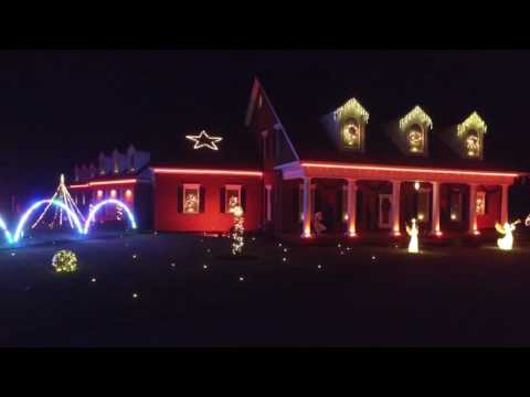 Gordon Family Christmas Lights 2016