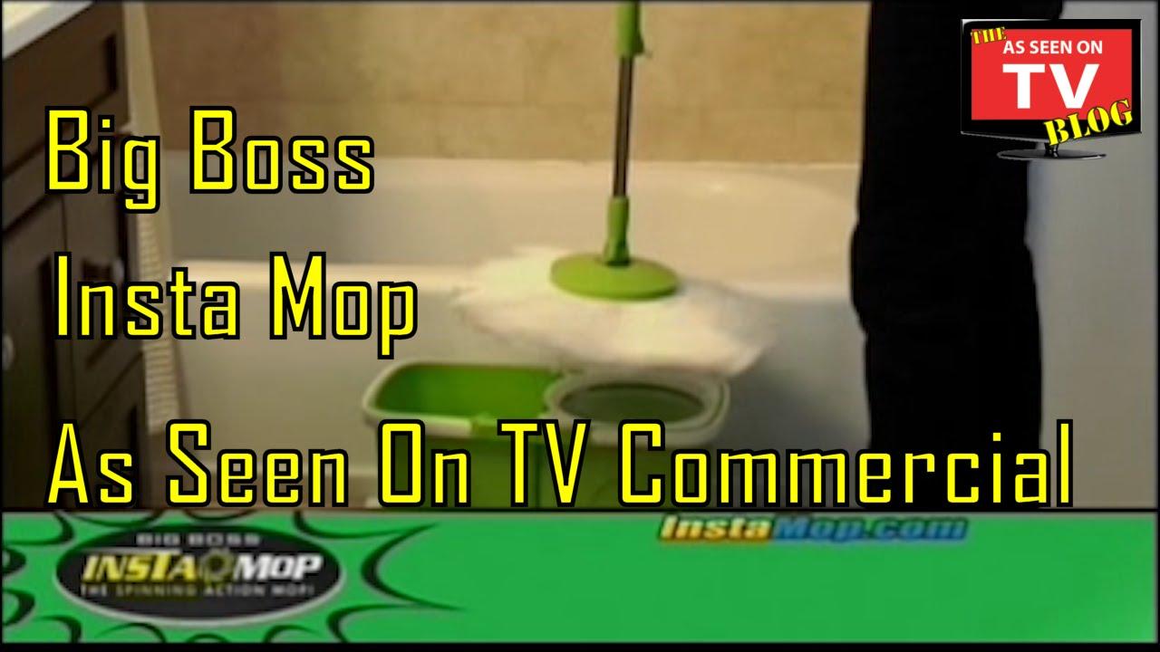 Big Boss Insta Mop As Seen On Tv Commercial Buy Insta Mop