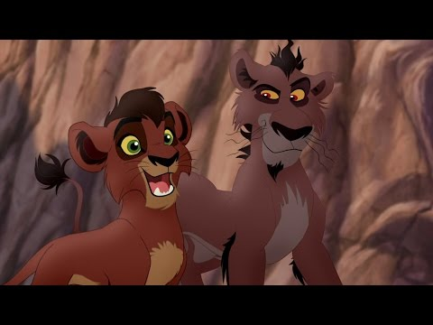 Lion Guard: Meet Kovu, Nuka, Vitani & Zira! | Lions of the Outlands HD Clip