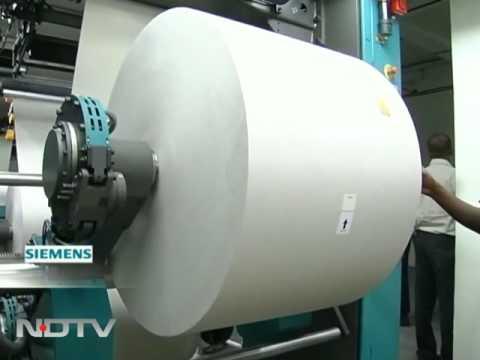Modern day cutting edge printing process