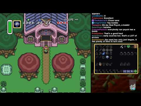 A Link to the Past Randomizer - A Casual Run/Introduction