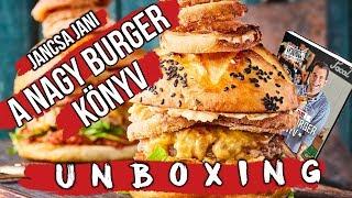 A Nagy Burger Könyv UNBOXING! 🍔