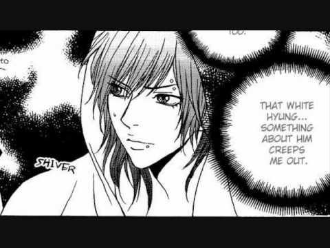 Manga emo boy