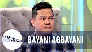 Bayani clarifies the issue involving him and Alex Gonzaga   TWBA