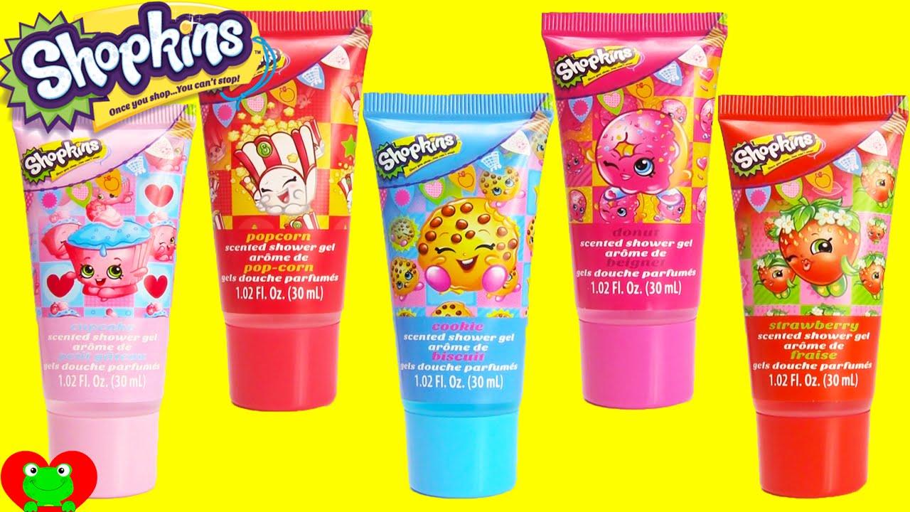 Shopkins Bath Bubbles And Shower Gels