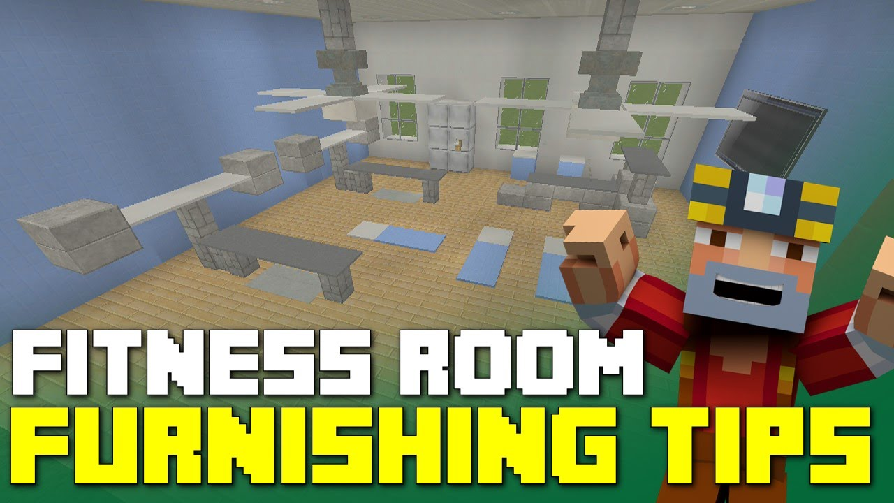 Minecraft Bedroom Ideas Xbox 360 minecraft xbox 360/one: fitness room furnishing tips and ideas